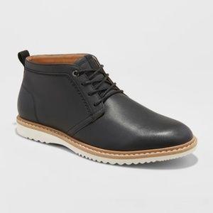 Goodfellow Men's Malik Casual Chukka Boots - Black